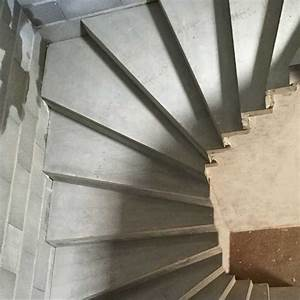 Prix Escalier Beton : revetement escalier bton revtement duescalier en bois dur ~ Mglfilm.com Idées de Décoration