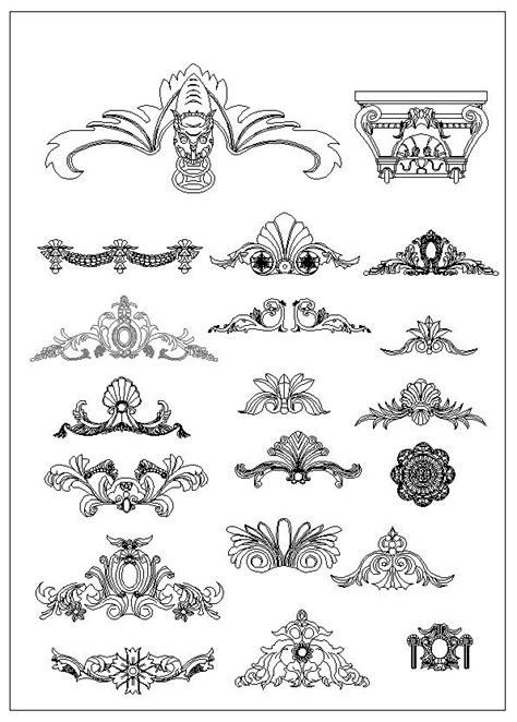 pin  cad blocksdrawings  neoclassical designcolumn