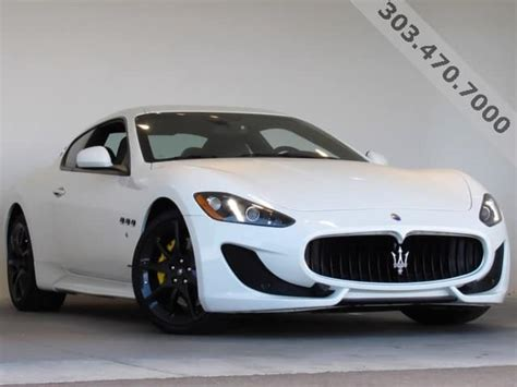Maserati Of Denver by 2017 Maserati Granturismo Sport With Navigation Lease Near