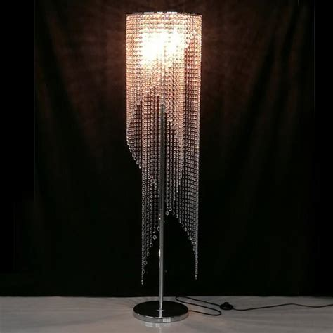 standing lights for bedroom led fashion modern crystal floor l living room lights