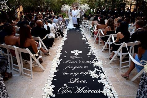 DIY Wedding Aisle Runner