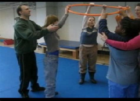 warm  exercise  hula hoop  children  youth