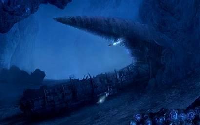 Ocean Deep Abyss Wallpapers Sea Desktop Backgrounds