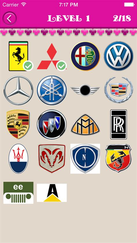 Car With Eb Logo by Guess The Cars Car Logo Quiz