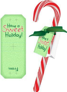 christmas printables candy cane labels  kids