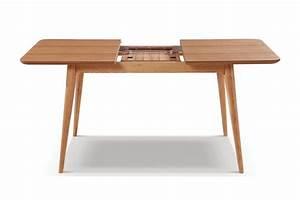 Table Extensible Bois : table de salle manger extensible en bois adda dewarens ~ Teatrodelosmanantiales.com Idées de Décoration