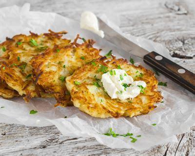 recette galettes de pommes de terre aux oignons