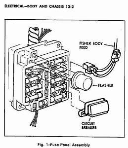 1955 Corvette Fuse Box Diagram