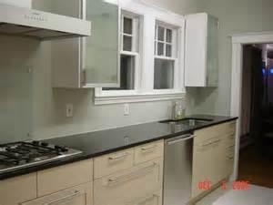 real homes modern kitchen silver green paint deep