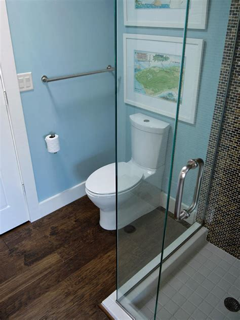small bathrooms big  beauty hgtv
