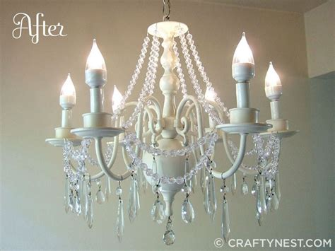 17 best ideas about brass chandelier makeover on