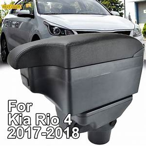 Car Styling Black Center Console Box For Kia Rio 4 2018 Yb