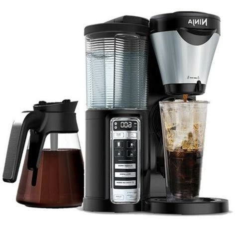 Saves money without the need for paper water filters. Ninja CF021 Coffee Maker Brewer Auto-iQ Hot and