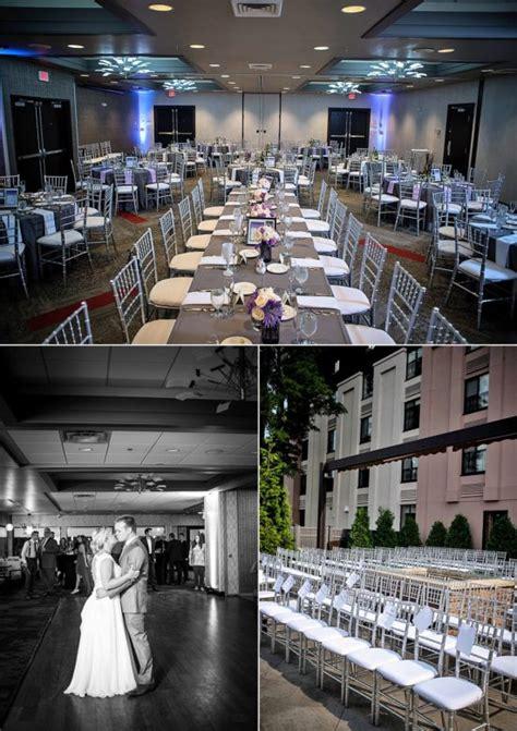 casually elegant wedding  holiday inn riverfront