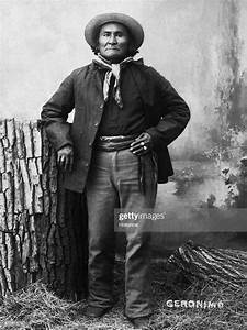 The Apache Chief Geronimo Poses For A Portrait Not Long