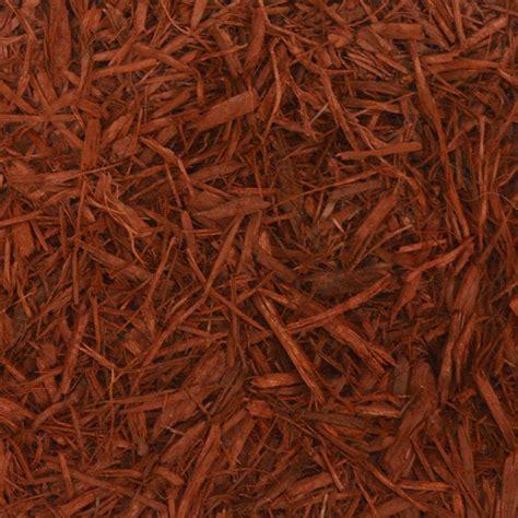 cu yd red landscape bulk mulch bkdmr  home depot
