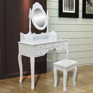 Coiffeuse Blanche Ikea : la boutique en ligne coiffeuse blanche 7 tiroirs avec 1 miroir et 1 tabouret ~ Teatrodelosmanantiales.com Idées de Décoration