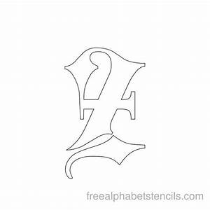 1000 ideas about gothic alphabet on pinterest old With black letter stencils