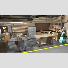 Garageshop Corner Lshape Workbench Design Woodworking