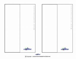 blank template professional templates for you With bookmark printing template