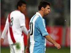 """Hinchas peruanos le gritan """"Cristiano, Cristiano"""" a Lionel"""