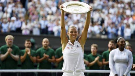 Andre Agassi Angelique Kerber Porsche by Angelique Kerber Anula A Serena Williams Gana Wimbledon Y