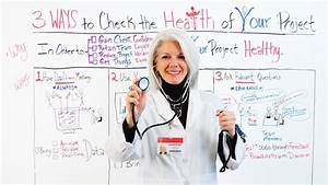 Project Health  3 Ways To Check The Health Status Of Your Projects - Project Management