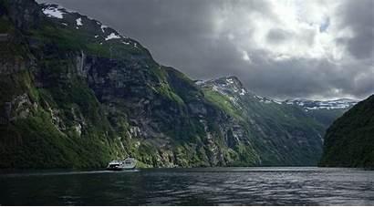 Norway Fjord Wallpapers Geiranger Background Backgrounds Lofoten