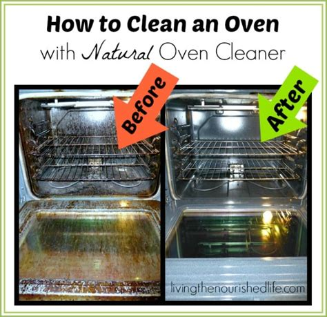 how to clean the oven how to clean an oven with natural oven cleaner jpg