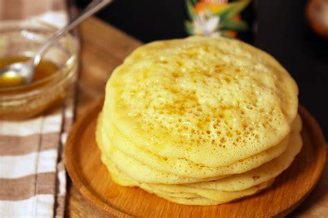 recette des crepes aux mille trous ou baghrir