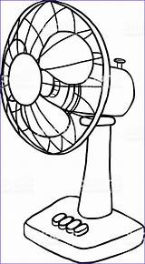 Coloring Pages Fans Fan Printable Drawing sketch template