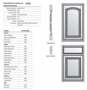 513 – Cabinet Door Styles and Finishes Maryland Kitchen