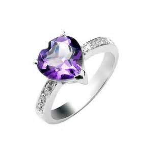 amethyst wedding ring 1 50 carat amethyst gemstone engagement ring on silver jewelocean