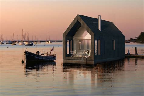 Tiny House Abwasser by Schwimmendes Minihaus Aus Lettland Tiny Houses