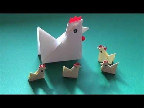 membuat kertas lipat origami anak ayam mudah ll