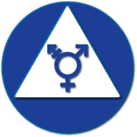 transall gender  wheelchair symbol restroom  signs