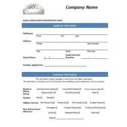 Free Job Application Template Word