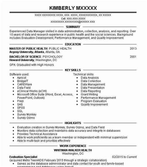 Social Science Research Resume by Political Science Resume Exles Social Sciences