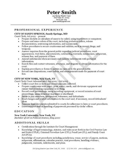 General Clerk 1 Resume by 10 Best Images About Resume Exles On Executive Resume Accounting Manager And