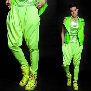 Aliexpress.com  Buy HOT !! Fashion menu0026#39;s fashion new stage singer dance clothing neon series ...