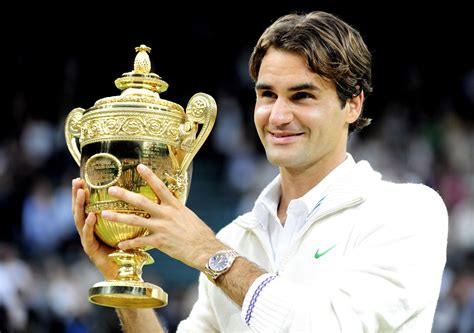 Roger Federer With Winning Cup Wallpapers Hd Wallpapers