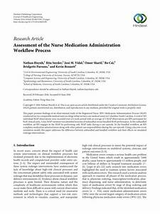Pdf  Assessment Of The Nurse Medication Administration