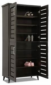 Joshua Shoe Cabinet Wenge Furniture Home Dcor FortyTwo