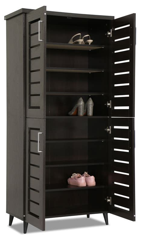 Joshua Shoe Cabinet Wenge   Furniture & Home Décor   FortyTwo