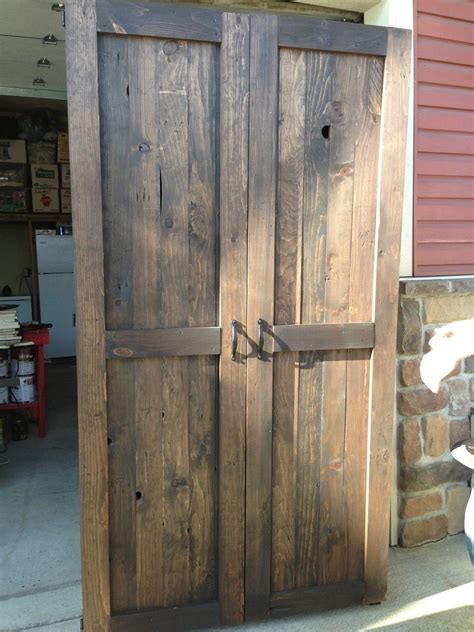 Wood Pantry Cabinet Custom Made Reclaimed Wood Armoire Pantry Home Project