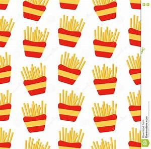 Fast Food, Pattern. Vector Illustration | CartoonDealer ...