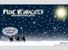 Cartoon Frohe Weihnachten