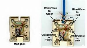 Telephone Jack Wiring Diagram