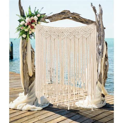 Backdrop Wall Hanging by Macrame Wall Hanging Tapestry Room Divider Door Window