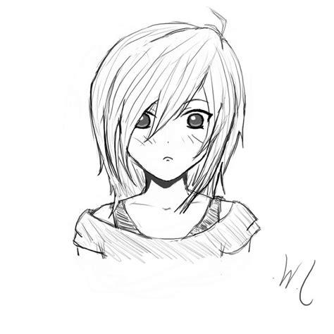 Drawing Anime Simple Anime Drawing Anime Drawings Easy Draw Anime Drawings